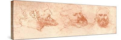 Drawing of Oriental Heads, in Red Chalk, C1472-C1519 (1883)
