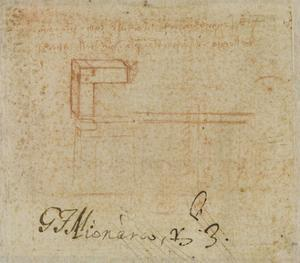 Etude de machine by Leonardo da Vinci