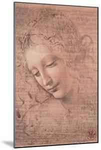 Female Head (La Scapigliata), c.1508 by Leonardo da Vinci