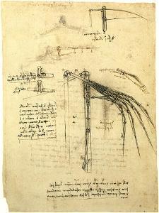 Flying Machine Part by Leonardo da Vinci