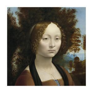 Ginevra de' Benci, 1474-1478 by Leonardo da Vinci
