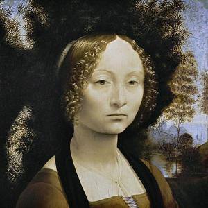 Ginevra De Benci, C. 1474-1478 by Leonardo da Vinci