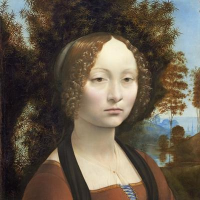 Ginevra De' Benci, C. 1474- 78 by Leonardo da Vinci