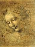 The Virgin of the Rocks, 1491-1519-Leonardo da Vinci-Mounted Giclee Print