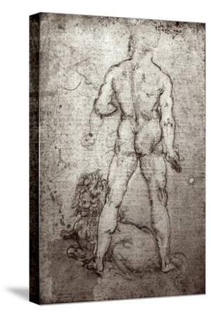 Hercules and the Nemean Lion, c.1504-8