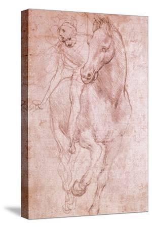 Horse and Rider by Leonardo da Vinci