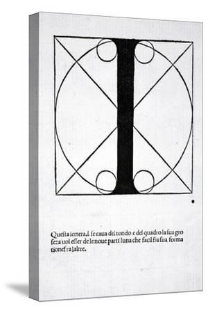 I, Illustration from 'Divina Proportione' by Luca Pacioli (C.1445-1517), Originally Pub. Venice,…