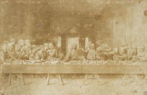 La Cène by Leonardo da Vinci