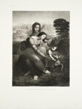 La Vierge, l'Enfant Jesus et St. Anne