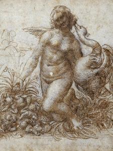 Leda and the Swan by Leonardo da Vinci