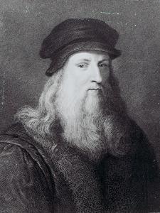 Leonardo Da Vinci, Engraved by Raphael Morghen, 1817 by Leonardo da Vinci