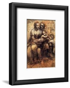 Mary, Christ, St. Anne and the Infant St. John by Leonardo da Vinci
