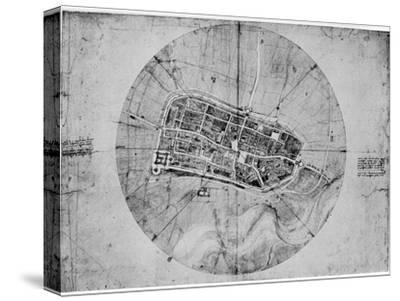 Plan of Imola, Italy, C1502