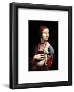 Portrait of a Lady with an Ermine by Leonardo da Vinci