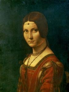 Portrait of an Unknown Woman (La Belle Ferronier), C1490 by Leonardo da Vinci
