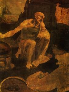 Saint Jerome, 1481 by Leonardo da Vinci