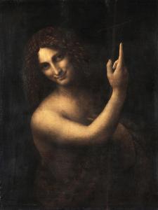 Saint John the Baptist, 1513-1516 by Leonardo da Vinci