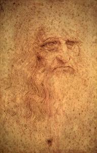Self-Portrait, 1512 by Leonardo da Vinci