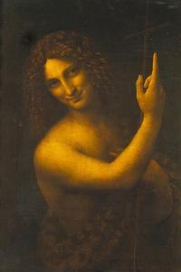 St, John the Baptist, 1513-16 by Leonardo da Vinci
