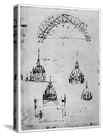 Studies for the Central Cupola of Milan Cathedral, Late 15th Century