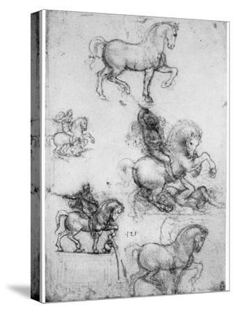 Studies for the Trivulzio Monument, C1508
