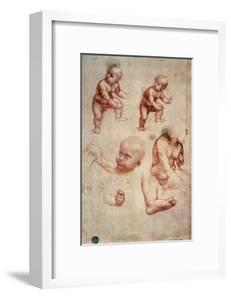 Study for a Portrait of a Child by Leonardo da Vinci