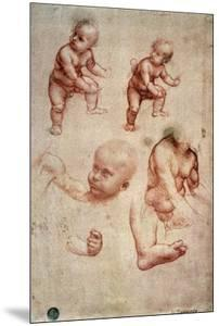 Study for a Portrait of a Child by Leonardo da Vinci