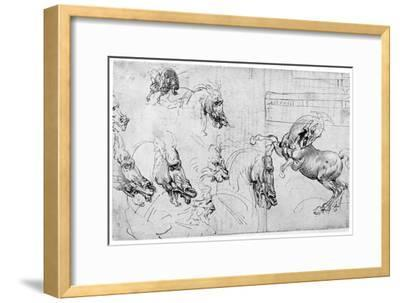 Study for the Battle of Anghiari, C1503-1505