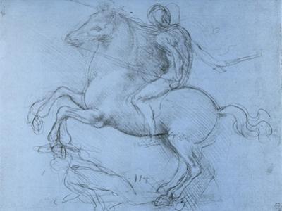 Study for the Sforza Monument, C1488-1493 by Leonardo da Vinci