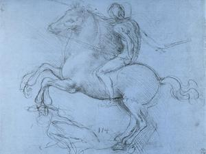 Study for the Sforza Monument, C1488-1493 by Leonardo da Vinci