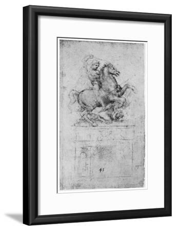 Study for the Trivulzio Monument, C1508
