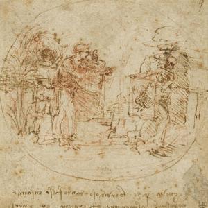 Sujet all�rique by Leonardo da Vinci
