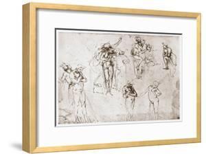 The Adoration of the Kings, C1481 by Leonardo da Vinci