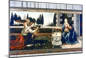The Annunciation, 1472-1475 by Leonardo da Vinci