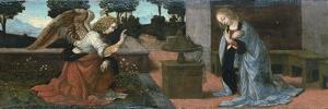 The Annunciation, 1478 by Leonardo da Vinci