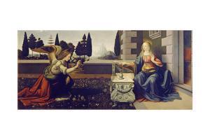 The Annunciation, Ca 1471-1472 by Leonardo da Vinci