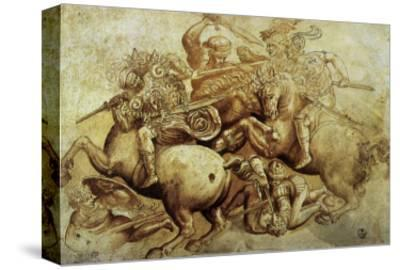 The Battle of Anghiari, 1500