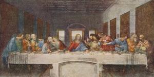 'The Last Supper', 1494-1498 by Leonardo da Vinci