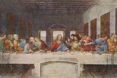 Leonardo Da Vinci Study of Christ for Last Supper Renaissance Print Poster 12x12