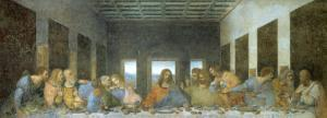 The Last Supper, 1498, Mural by Leonardo da Vinci