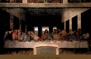 The Last Supper, 1498 (post-restoration) by Leonardo da Vinci