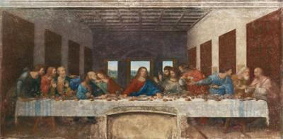 The Last Supper, c.1498 by Leonardo da Vinci