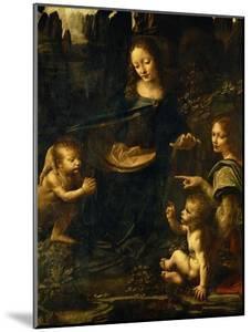 The Madonna of the Rocks by Leonardo da Vinci