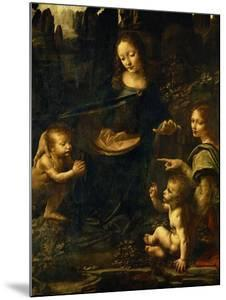 The Madonna of the Rocks by Leonardo da Vinci