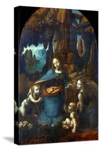 The Virgin of the Rocks, 1491-1519 by Leonardo da Vinci