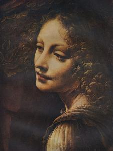 'The Virgin of the Rocks (detail)', c1491 by Leonardo da Vinci