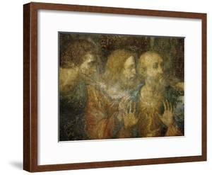 Three Apostles, Detail from Leonardo's Last Supper, 1498 by Leonardo da Vinci