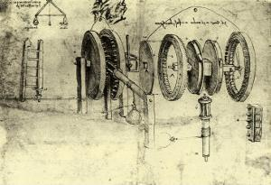 View of a Hoist by Leonardo da Vinci