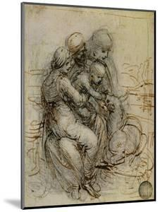 Virgin and Child with St. Anne by Leonardo da Vinci