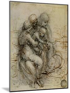 Virgin and Child with St. Anne by Leonardo da Vinci